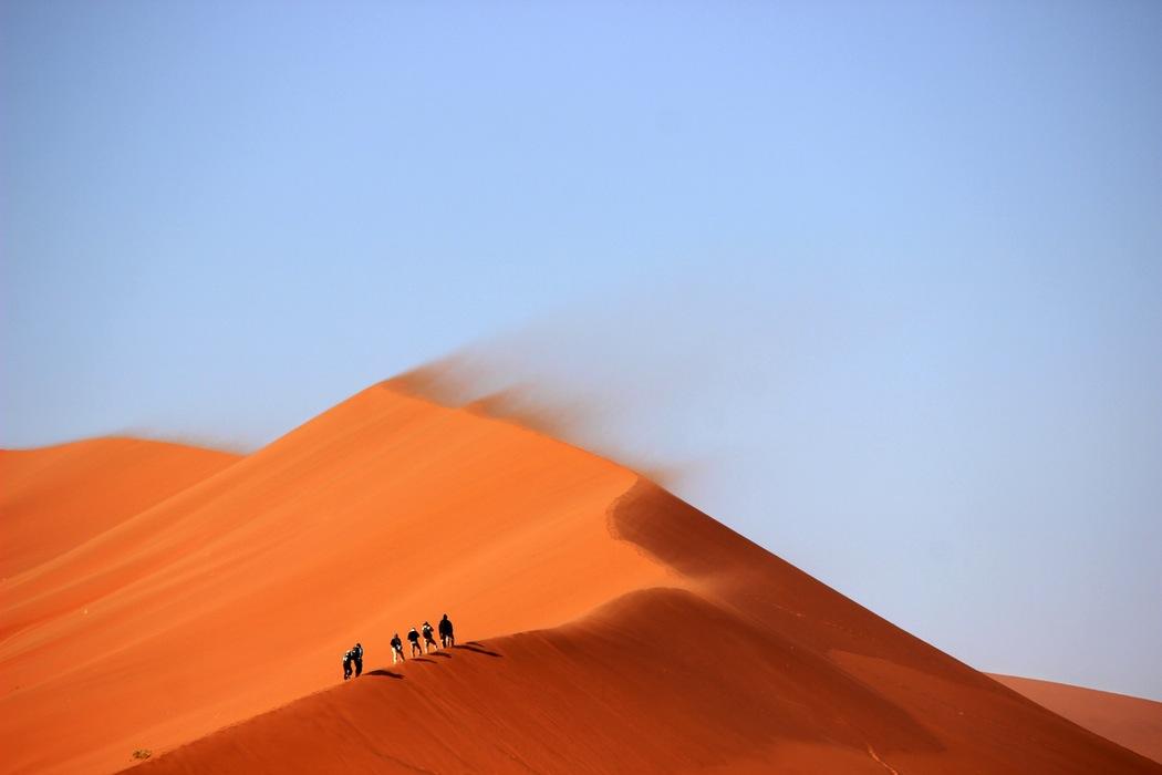 det kan blive lidt af en ørkenvandring......